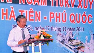 Cerimonia d'inaugurazione del progetto Phu Quoc