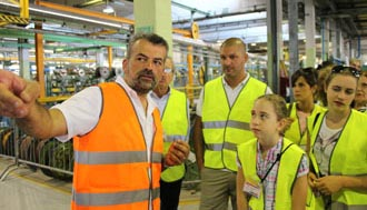 Merlino opens its plant doors
