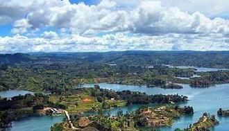 Riapertura della centrale idroelettrica di Guatapé