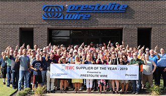 Prestolite Wire – Supplier of the Year 2019