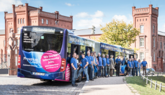 Looking Good: Prysmian Bus on the Roads of Schwerin