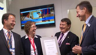 La Business Unit Aerospace premiata al Paris Air Show