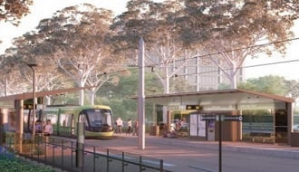 The largest Aust-made FlexTube® cable in Canberra Light Rail's path