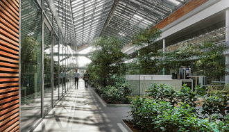 Prysmian Group HQ: the Building Structure and the Work Spaces
