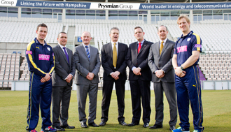 Sponsoring the Hampshire Cricket