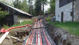Il primo collegamento in cavo interrato ad alta tensione in Montenegro