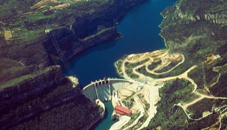 Cavi energia per la centrale idroelettrica spagnola Cortes-La Muela