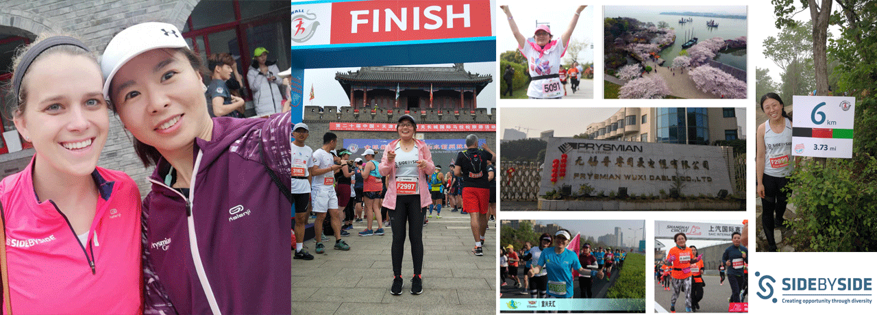 The great wall marathon: 8 women from Prysmian Group joined the challenge