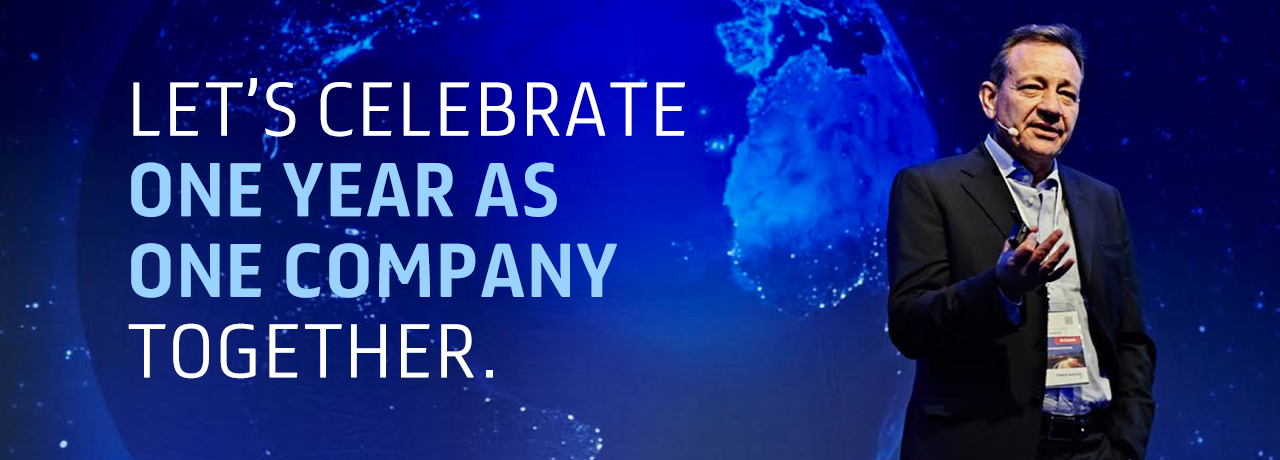 Let's celebrate the first anniversary of the General Cable Integration. Together! A year after