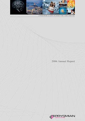 Bilancio annuale 2006
