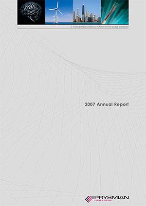 Bilancio annuale 2007