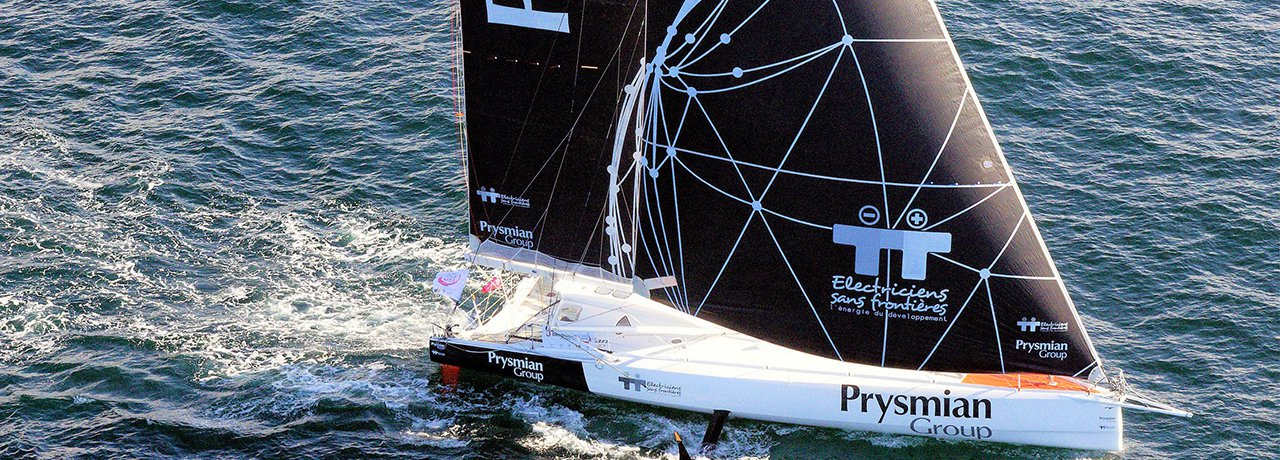 Giancarlo Pedote teams up with Anthony Marchand for the Tour de Bretagne à la Voile