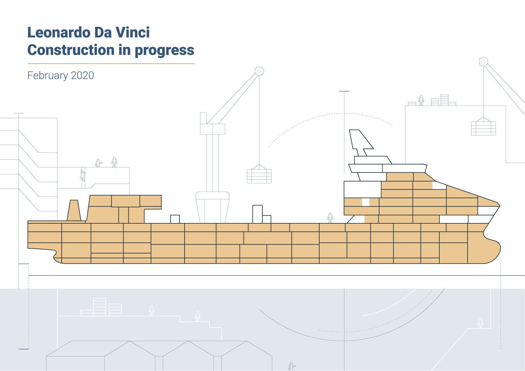 Leonardo da Vinci: construction in progress