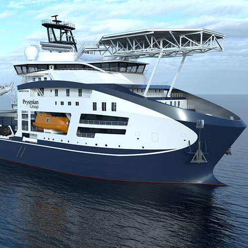 Prysmian Group presents the most advanced cable laying vessel