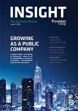 7e067cd44 Insight quarterly magazine | Prysmian Group