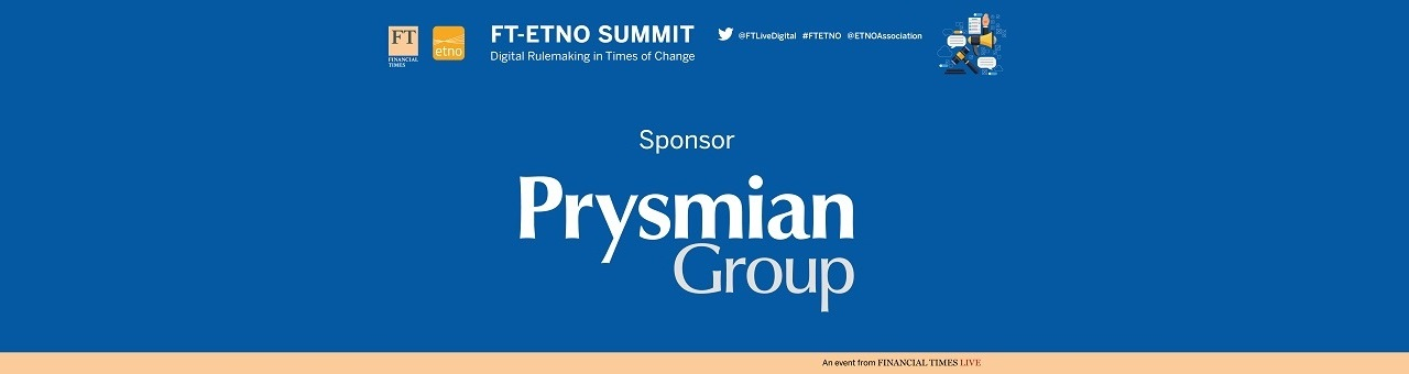 Prysmian Group sponsor of<br> FT-ETNO Summit 2017