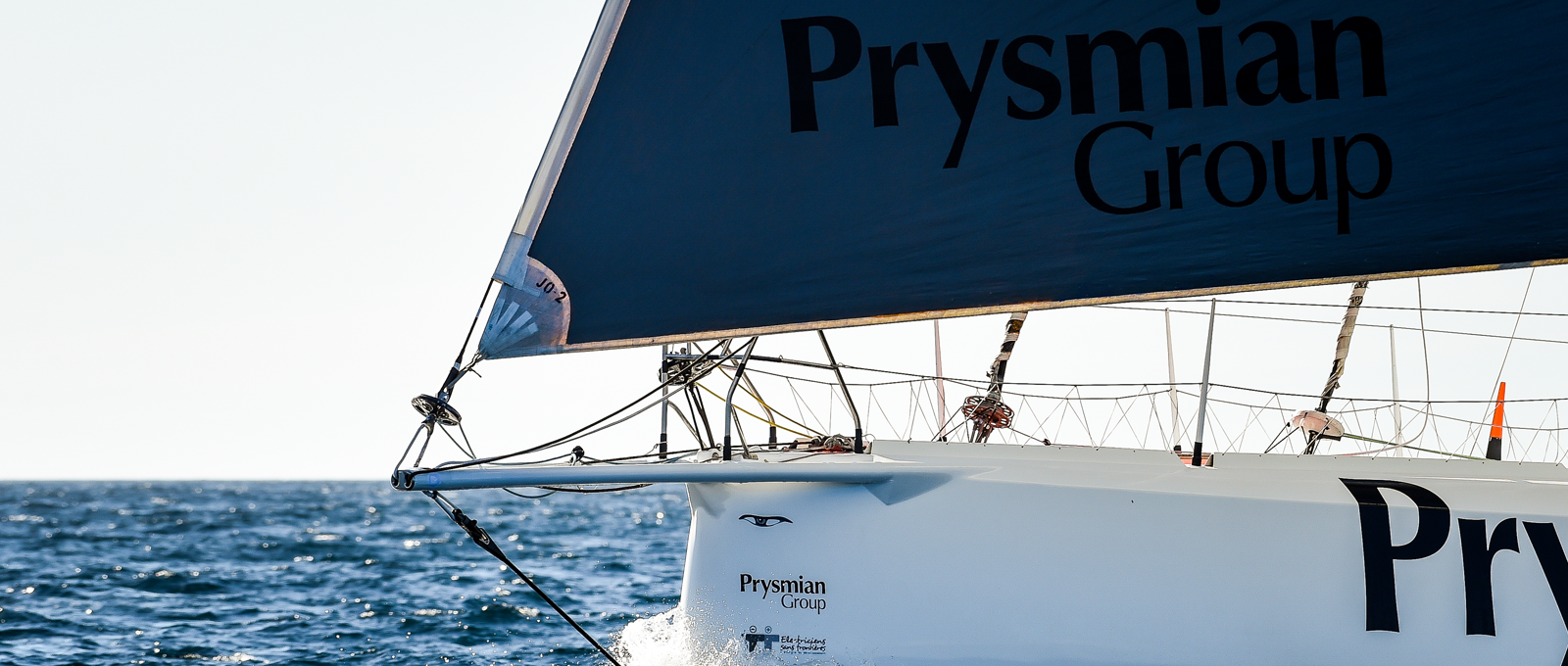 Prysmian and skipper Pedote: the only Italian team at the Vendée Globe 2020 race, the globe-spanning solo sailboat race known as the Mount Everest of the seas.