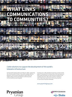 Prysmian Group Telecoms-Ad