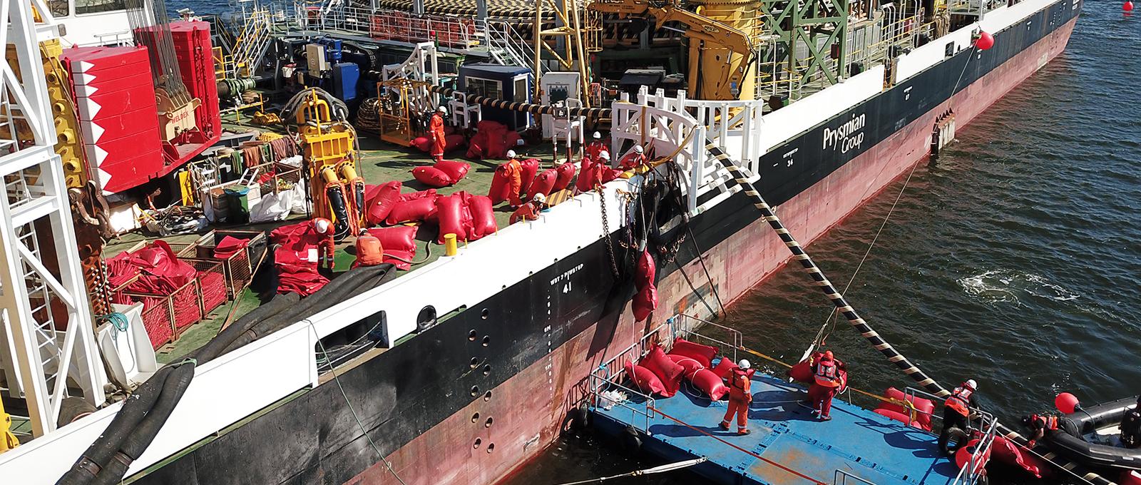 Completato con successo il test HVDC sul collegamento in cavo sottomarino COBRAcable tra Olanda e Danimarca