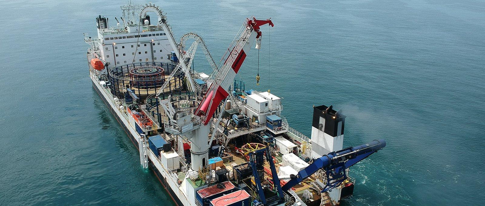 Prysmian completa con successo il progetto del parco eolico offshore DolWin3 in Germania