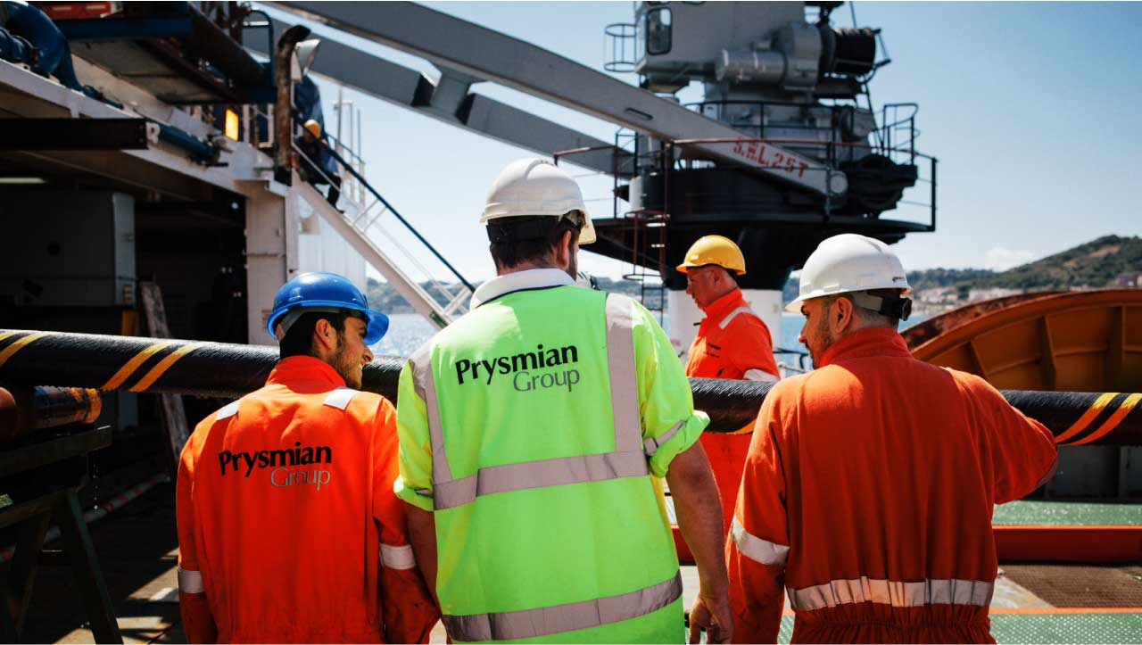 Prysmian Group Offshore Push