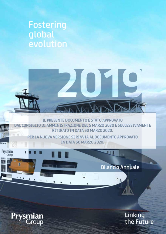 Bilancio Annuale 2019 (ritirato)
