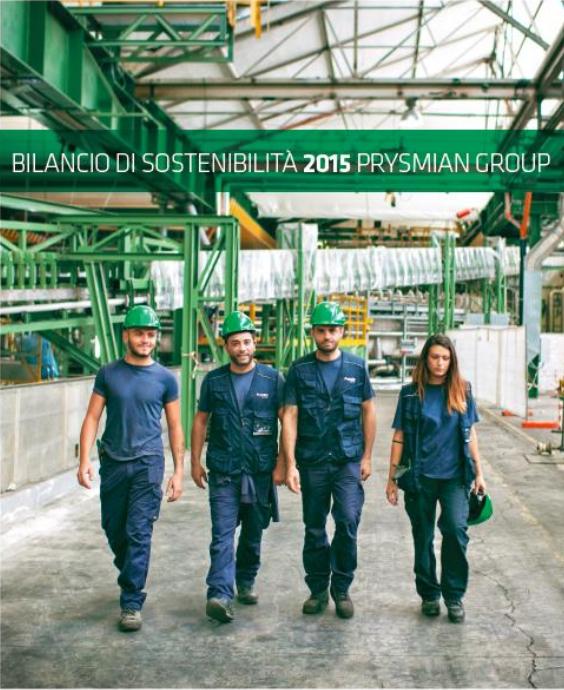 Bilancio di sostenibilità 2015