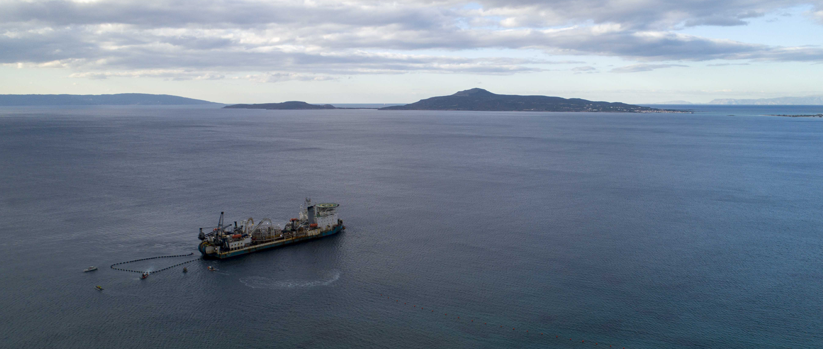 Successful completion of the first ever submarine interconnection between the island of Crete and mainland Greece