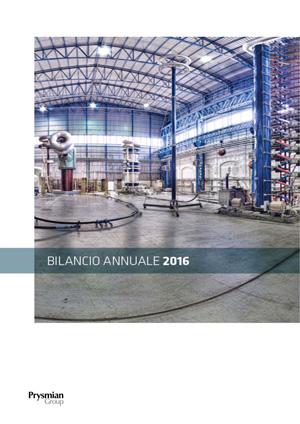 Bilancio annuale 2016