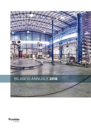 Bilancio 2016 - THE REWARDS OF INNOVATION
