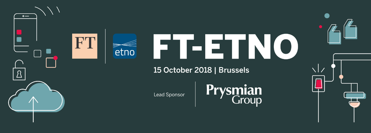 Prysmian Group at FT-ETNO Summit 2018 calls for renewed focus on optical fibre broadband infrastructure