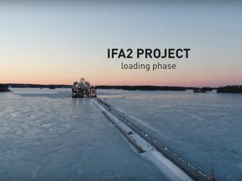 Prysmian Group IFA2 Project - Loading phase