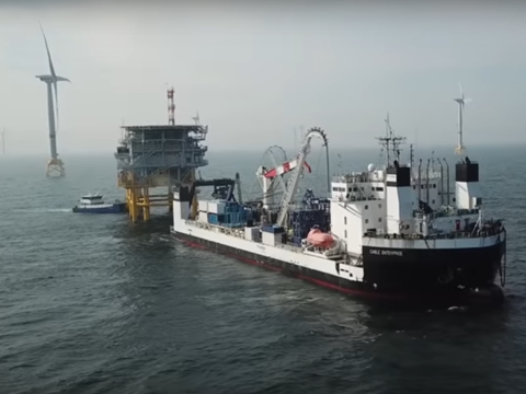 Ostwind 1 (CWA) offshore wind cable project