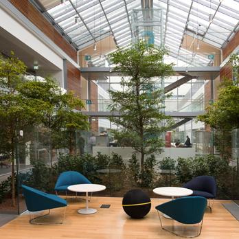 All'interno del nuovo 'smart-working HQ' di Prysmian
