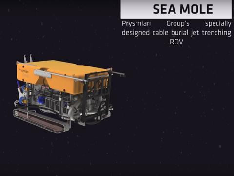 Prysmian Group Installation Capabilities: Sea mole