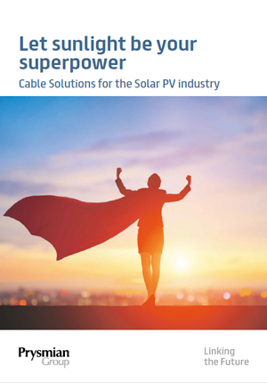 Cable Solutions for the Solar PV Industry