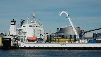 Varata la nave Cable Enterprise dopo i lavori di ammodernamento